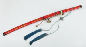 Ceremonial sword - yedo; hwando 19th century